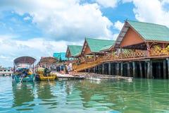 Panyee island at Phang Nga National Park Thailand Royalty Free Stock Photos
