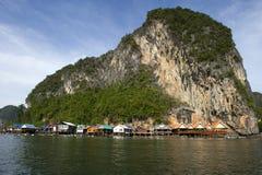 Panyee Island in Phang Nga Province, Thailand Royalty Free Stock Photo