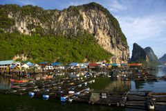 Panyee Island in Phang Nga Province, Thailand Stock Photography