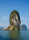 Panyee island, Phanga, Thailand Royalty Free Stock Photos