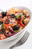 Panzanella bread salad Stock Photography
