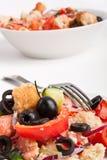 Panzanella bread salad Stock Photos