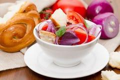 Panzanella - Italian cuisine Stock Photography