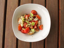 Panzanella salad from Tuscany Stock Images