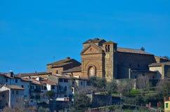 Panzano在Chianti,佛罗伦萨,托斯卡纳 免版税库存图片