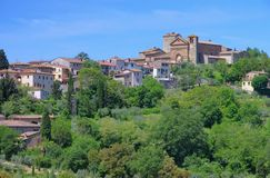 Panzano in Chianti. Village in Tuscany stock image