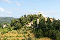 Panzano, Chianti стоковое изображение rf