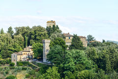Panzano, Chianti стоковые фотографии rf