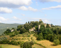 Panzano, CHianti royalty free stock photography