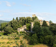 Panzano, Chianti stock image