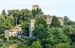 Panzano, Chianti Royalty Free Stock Photos