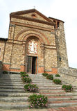 Panzano Church Royalty Free Stock Photo