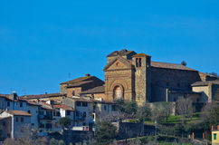 Panzano i Chianti, Florence, Tuscany Royaltyfri Bild