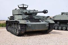 Panzer-4, el tanque de batalla nazi WW-2. fotografía de archivo