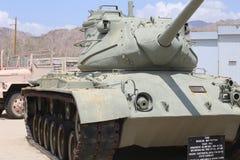 Panzer beim George S Patton Museum in Kalifornien Stockfotografie
