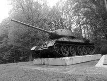 Panzer i Kroatien Arkivfoto