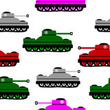 Panzer icons on white. Royalty Free Stock Photography