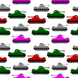 Panzer icons on white. Stock Photography
