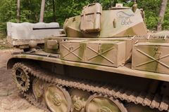 Panzer II Ausf. L `Luchs` at Militracks event Stock Image