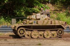 Panzer II Ausf. L `Luchs` Royalty Free Stock Image