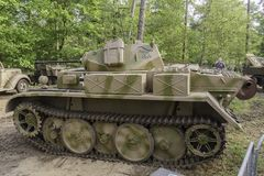 Panzer II Ausf. L `Luchs` at Militracks event Royalty Free Stock Photography