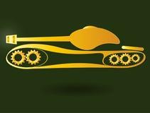 Panzer, tank Stock Image