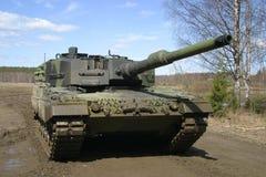 Panzer van voorzijde. Stock Foto's