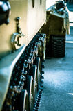 Panzerabteilung ist auf einer Dienstreise Lizenzfreies Stockbild
