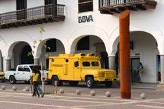 Panzerkampfwagen in der Straße von Cartagena. Lizenzfreie Stockfotografie