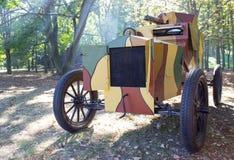 Panzerkampfwagen vom Ersten Weltkrieg Stockfotos