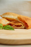 Panzerotti stock photo