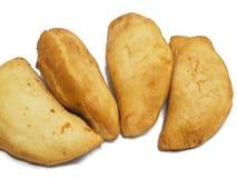 Panzerotti. Italian Food. stock photos