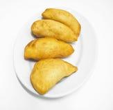 Panzerotti. Nourriture italienne. Photo libre de droits