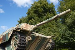 Panzertank royalty-vrije stock afbeelding