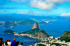 Pao azucar Brasilien Lizenzfreie Stockfotos
