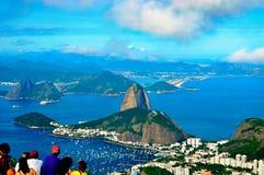 Pao azucar Brasilien Royaltyfria Foton