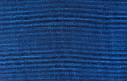 Paño azul de la tela de las lanas Foto de archivo libre de regalías