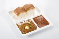 Pao Bhaji Stockfotos