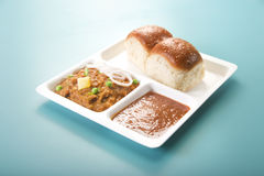 Pao Bhaji Stock Photos