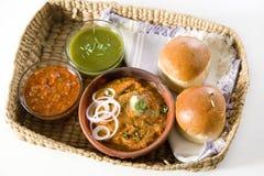 Pao Bhaji Stock Image
