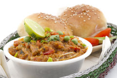 Pao Bhaji Stock Photography