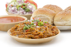 Pao Bhaji Royalty Free Stock Photography