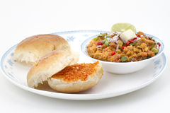 Pao Bhaji Royalty Free Stock Images