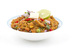 Pao Bhaji Royalty Free Stock Photos