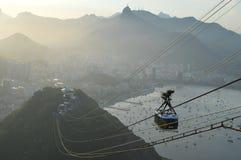 Pao De azucar in Rio de Janerio Lizenzfreies Stockbild