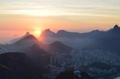 Pao De azucar in Rio de Janerio Lizenzfreie Stockbilder