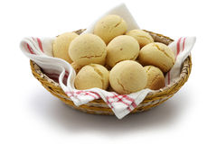 Pao de queijo, brazilian cheese bun Royalty Free Stock Photography