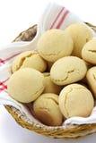Pao de queijo, brazilian cheese bun Stock Photos