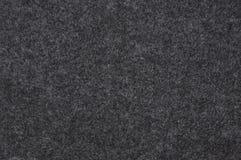 Paño del fieltro del negro Imagen de archivo