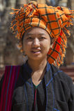 PaO Woman - Shan State - Myanmar (Burma) Royalty Free Stock Images